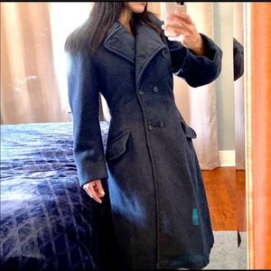 Christian Dior!  Authentic wool trench coat